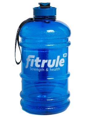 Бутылка FitRule 2200 мл синяя