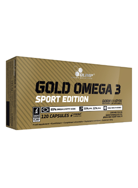 Gold Omega3 Sport Edition