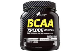 BCAA Xplode в соотношении 2:1:1 + 1 гр глютамина