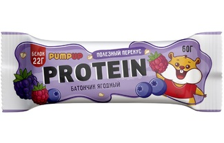 Протеиновый батончик ягодный
