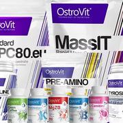 OstroVit – новая линейка спортпита в нашем магазине